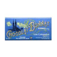 Tablette de chocolat noir Los Colorados 100gr