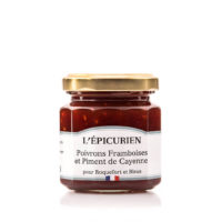 Confit Poivron, Framboise et Piment de Cayenne 50gr