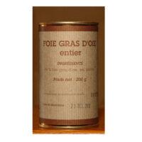 Foie gras d'oie entier Boîte 200gr
