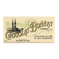 Tablette de chocolat lait et noisettes 100gr