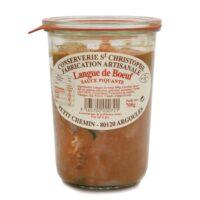 Langue de bœuf sauce piquante 700gr