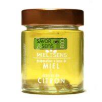 Miel bio aux Ecorces de citron confits 170gr