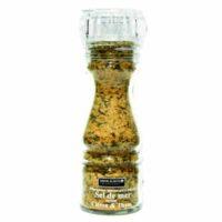 Moulin Sel de Mer Saveur Citron/Thym 145gr