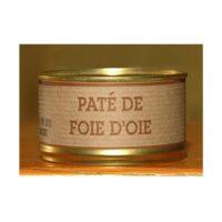 Pâté artisanal de foie d'Oie Boîte 130gr