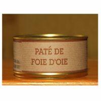 Pâté artisanal de foie d'Oie Boîte 200gr
