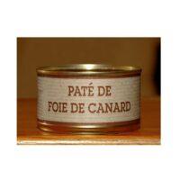 Pâté de foie de Canard Boîte 130gr