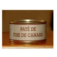 Pâté de foie de Canard Boîte 200gr