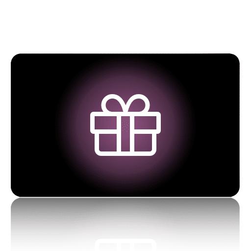 Carte cadeau selon le montant de votre choix