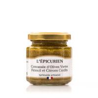 Concassé Olives vertes, Fenouil et Citrons confits 100gr