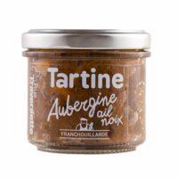 Tartinable Aubergine, Ail et Noix 110gr
