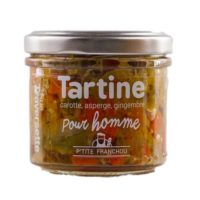 Tartinable pour Homme (carotte, asperge, gingembre) 110gr