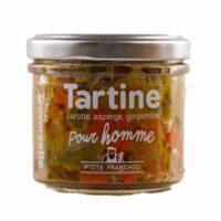 Tartinable pour Homme (poireau, carotte, asperge) 110gr