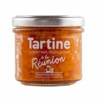 Tartinable à la Réunion (citron vert, rhum, piment) 110gr