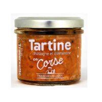 Tartinable en Corse (châtaigne et clémentine) 110gr
