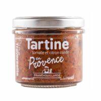Tartinable en Provence (tomate et citron confit) 110gr