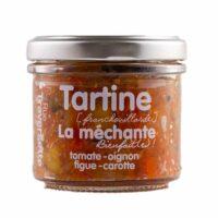 Tartinable la Méchante (tomate, oignon, figue et carotte) 110gr
