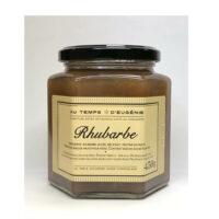 Confiture artisanale à la Rhubarbe 325gr
