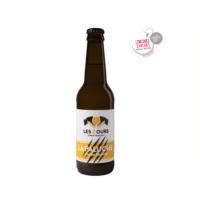 """Bière Blonde La Paluche """"Brasserie Les 2 Ours"""" 33cl"""