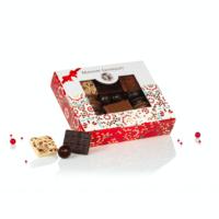 Boite de chocolats Nœud rouge 185gr