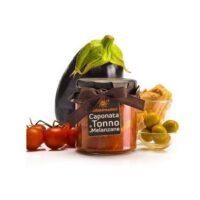 Caponata de thon et aubergines 300gr