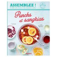 """Livre de cuisine """"Punchs et Sangrias"""" Mango Editions"""