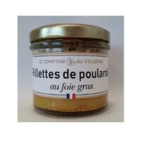 Rillettes de poularde au Foie gras 100gr