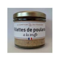 Rillettes de poularde à la Truffe – Pot de 100gr