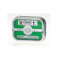 Sardines à la tomate épicée Rodel 1/6 115gr