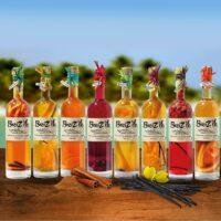 Alcools et belles bouteilles
