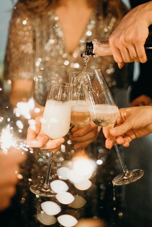 champagne et pétillant