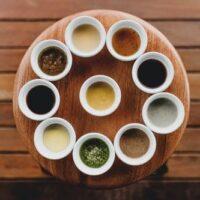 Sauces et antipasti