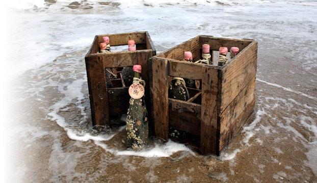 Read more about the article Vin d'O, quand le vin vieillit en mer …