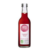 Infusion glacée Framboise Menthe Pomme Bio 25cl