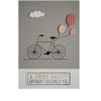 "Carte ""A very Happy Birthday to lovely you"" – Räder"